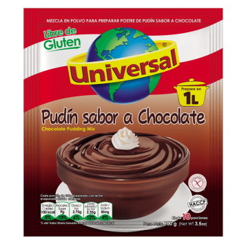 Pudín De Chocolate...