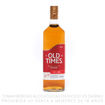 Whisky Old Times Red...