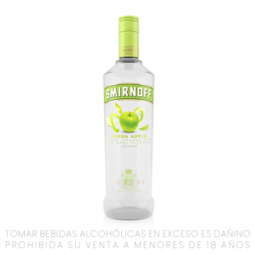Vodka SMIRNOFF Green Apple...