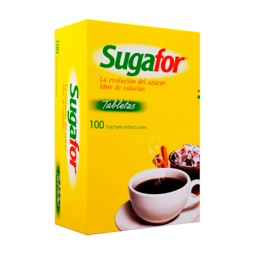 Sugafor 6.5 mg por 100...