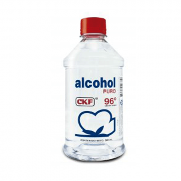Alcohol puro 96° CKF x 500 ml