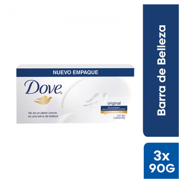 Jabón Dove Blanco Pack 3...