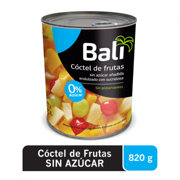 Cocktail de Frutas con...