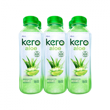 Six Pack Kero Aloe Uva 300 ml