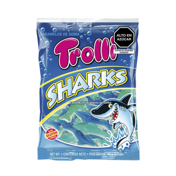 Gomitas TROLLI GUMMY SHARKS...