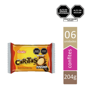 Galletas Caritas Costa x 6 und