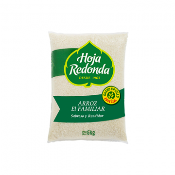 Arroz Familiar Hoja Redonda...