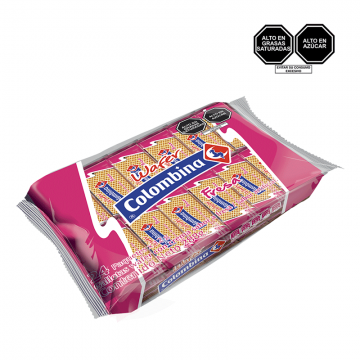 Wafer COLOMBINA Sabor Fresa...