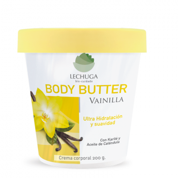 Crema Body Butter Lechuga...