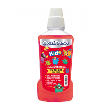 Enjuague Oralfresh Kids x...