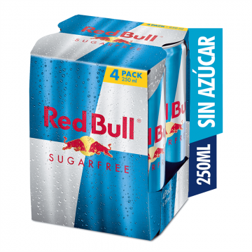 Red Bull Sugarfree Pack de...