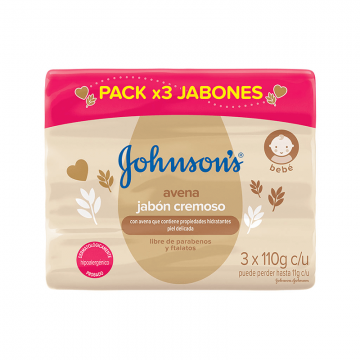 Jabón Cremoso Johnson's...