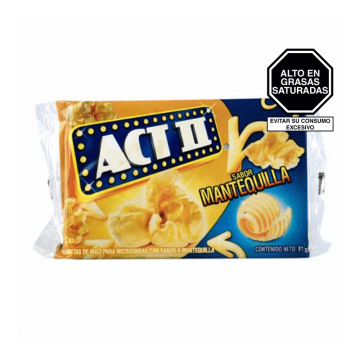 Pop Corn Butter Extra Act...