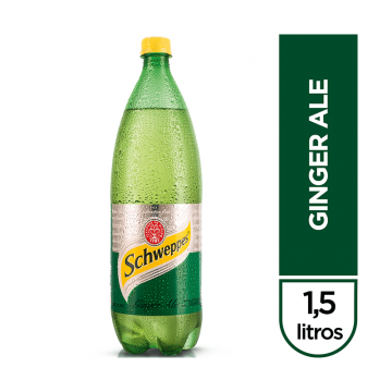 Ginger Ale Schweppes x 1500 ml